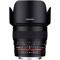 Samyang Objectif pour Nikon 50 mm F1.4 AS UMC Noir