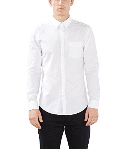 ESPRIT Collection Herren Businesshemd Weiß (White 100)