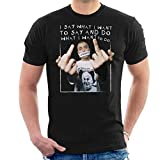 Eminem Say What You Say Lyrics Men's T-Shirt