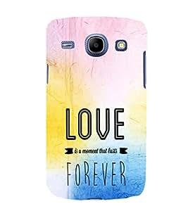 EPICCASE love forever Mobile Back Case Cover For Samsung Galaxy Core (Designer Case)