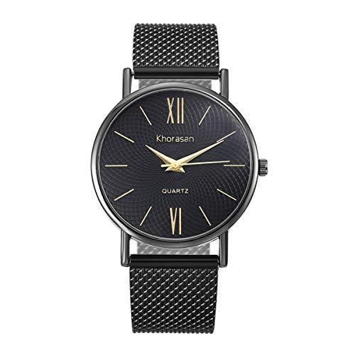 Floweworld Unisex-Armbanduhren Paar Einfache Kunststoffband Quarzuhren Roman Scale Uhren Digital Scout Cam