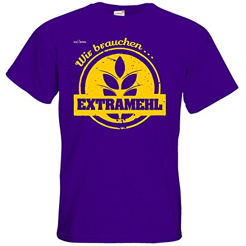 getshirts - SizzleBrothers Merchandise Shop - T-Shirt - SizzleBrothers - Grillen - Extramehl Purple