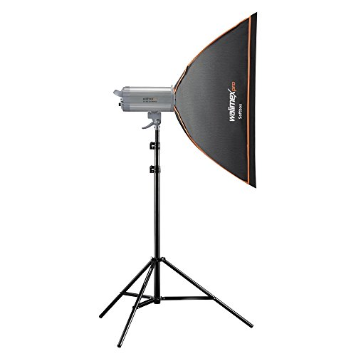 Walimex ProVC Excellence Studioset Classic 500 inkl. Softbox 60x90 cm/Lampenstativ