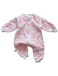 Feoya Pijama Bebé Niño Niña Saco de Dormir con Piernas Separadas Primavera Otoño Invierno