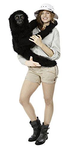 Baby Kostüm Gorilla (Baby Gorilla Puppe Kostüm Witzige Karneval Verkleidung Damen)