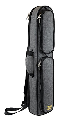 TOM & Will 36ssx-315Sopran-Saxophon Gigbag-Grau -