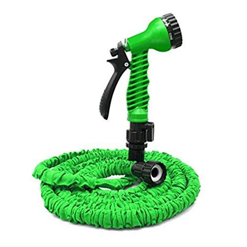 Tuyau d'arrosage, Tuyau d'arrosage extensible + Buse de pulvérisation, Durable Durable Robuste Flexible Tuyau d'arrosage pour lave-auto Nettoyage de pelouse Arrosage de plantes de jardin