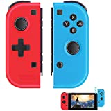 Elyco Wireless Controller per Nintendo Switch, 2er-Set Bluetooth Sostituzione Joycon Gamepad Joypad ...