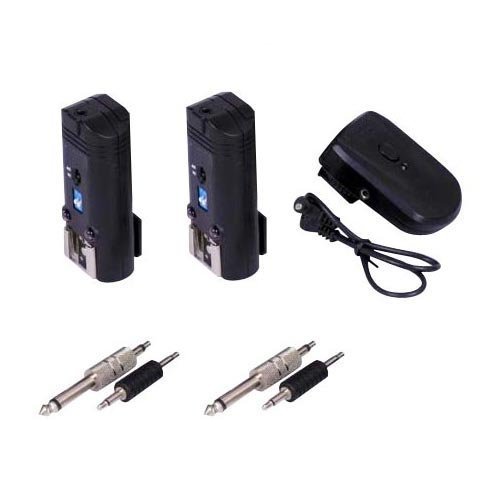 PT-04A 2 in 1 Radio Wireless Flash & Studio Trigger x 2 Receivers for Nikon,Canon,Pentax,Olympus Systems