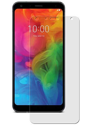 easy-top- Schutzfolie für LG Q7 Plus - 3X kristallklare Anti-Shock Bildschirmschutzfolie - Crystal Clear Schutz Folie - Bildschirmfolie