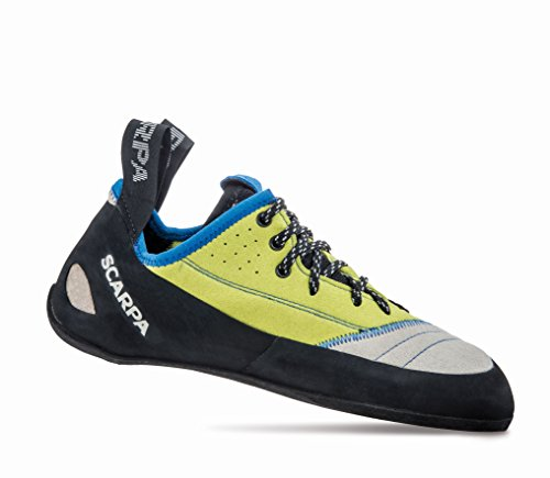 Scarpa Schuhe Velocity L Women lightgray/lime fluo