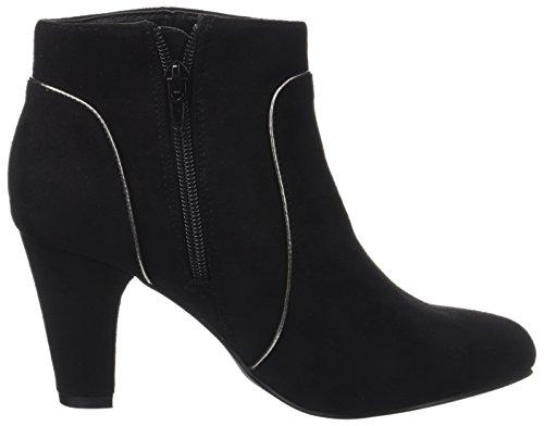 Kaporal Damen Sandow Kurzschaft Stiefel Noir (Noir)