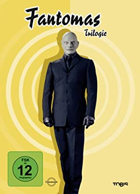 Fantomas Trilogie [3 DVDs]