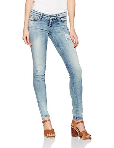 LTB Jeans Clara, Jeans Slim Donna, Blau (Semilla Wash 51086), 26W X 32L (Taglia Produttore: 26)