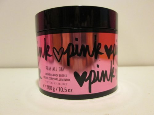 Victoria's Secret Victoria's Secret Pink Play All Day California Poppy and Sunny Musk Luminous Body Butter 10.5 Oz