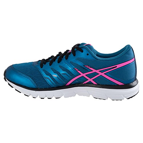 Asics - Gel-zaraca 4, Scarpe da corsa Donna Blu (Mosaic Blue/Pink Glow/Onyx 5335)