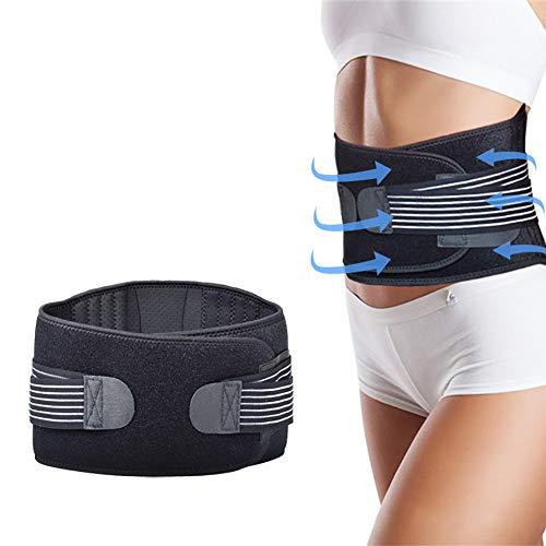 Cinturones lumbares cinturón Alivio inmediato para el Dolor de Espalda,Hernia de Disco,elevación,Postura,ciática,escoliosis,cinturón para Hombres y Mujeres.