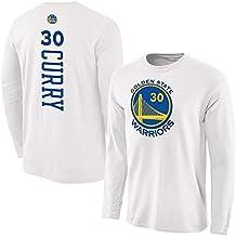 NBA Camiseta Larga Para Hombre Golden State Warriors LOGO Stephen Curry Kevin Durant Entrenamiento De Baloncesto