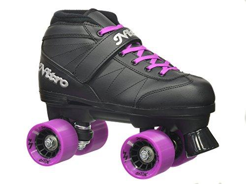Epic Skates 2016Epic Quad Speed-Super Nitro 2Rollschuhe, violett (Kinder-roller Rink-skates)