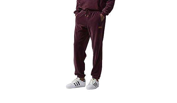 adidas Pantalon de survêtement pour Homme en Velours XXL