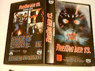 Freitag der 13. Jason lebt VHS