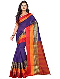Vatsla Enterprise Women's Cotton Silk Saree With Blouse Piece (VWLTXDYD13)