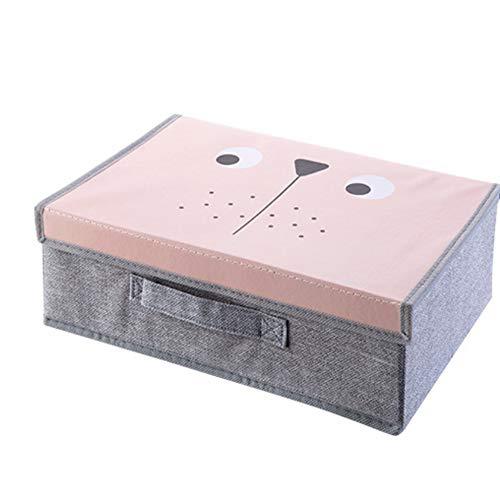 myvovo) 2-teiliges Set Unterwäsche BH Organizer Aufbewahrungsbox 2 Farben Rosa/Blau Schubladenschrank Organisatoren Boxen Für Unterwäsche Schal Socken Organizer -