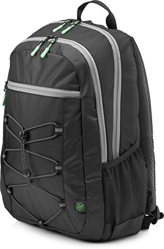 HP Active Rucksack 1LU22AA (für Laptops, Tablets, 15,6 Zoll) schwarz / grün (Laptop Hp R 15)