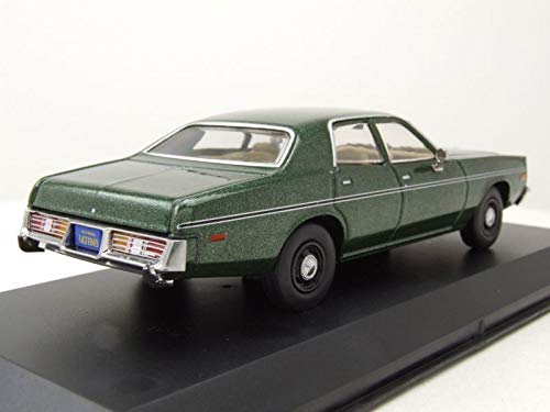Greenlight Voiture Miniature Dodge Monaco Rick Hunter Inspecteur Choc 1977 1/43 en Métal