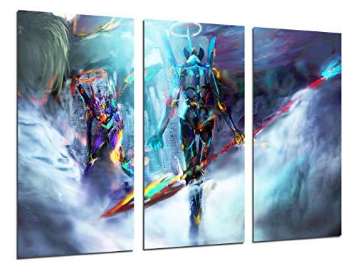 Cuadro Moderno Fotografico Anime Japones, Neon Genesis...