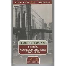 Poesia norteamericana 1900-1950
