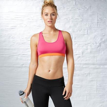Reebok Sport Essentials Short Mujer Ropa Interior Bra Rosa Rosa Talla:Extra-Small