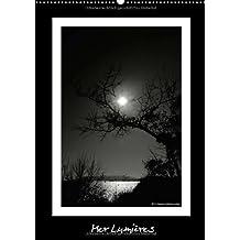 Mer Lumières / BE - Version (Calendrier mural 2015 DIN A2 vertical): Observations de la nature avec le lac et le soleil (Calendrier mensuel, 14 Pages) (CALVENDO Nature)