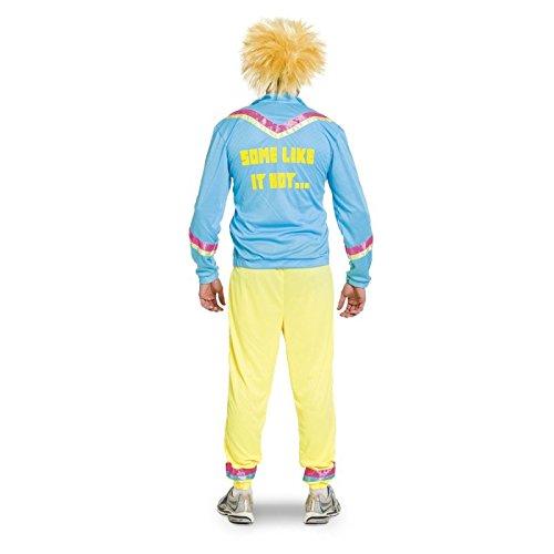 Imagen de folat–adultos disfraz chándal años 80, 3piezas alternativa
