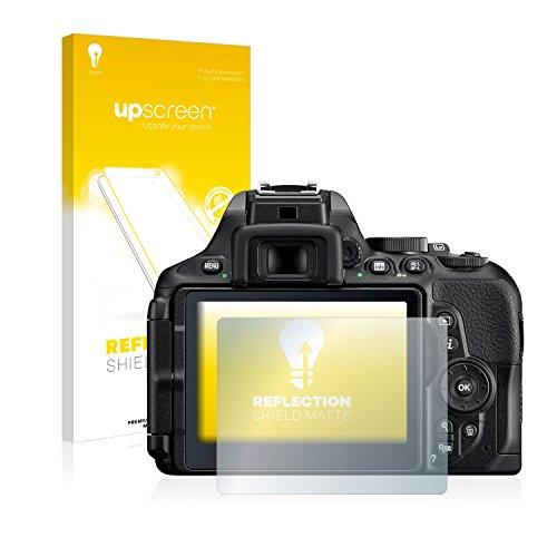 upscreen Matt Schutzfolie für Nikon D5600 - Entspiegelt, Anti-Reflex, Anti-Fingerprint