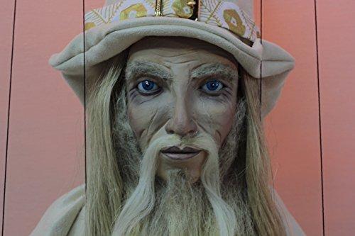 marionette Mago Blanco marioneta puppet OOAK artdoll títere