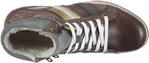 Bugatti King Pull Up/Vel. D374183 Herren Fashion Sneakers Grau (taupe /multicolor 870)