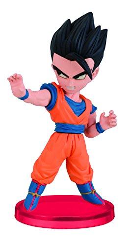 Dragon Ball Z World Collectable Figuras Adult Gohan Chibi PVC Figura