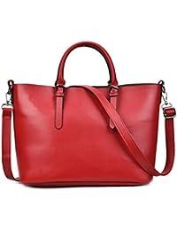 db8a0a44e Gran capacidad Bolsas para Mujer bolsos de cuero Pu Pu Bolso De cuero Bolsos  de compras