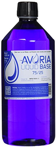 Avoria Deutsche Liquid Basen  0mg/ml VPG (75/25), 1er Pack (1 x 1 l)