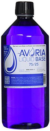Avoria Deutsche Liquid Basen 0mg/ml VPG (75/25), 1er Pack (1 x 1 l)