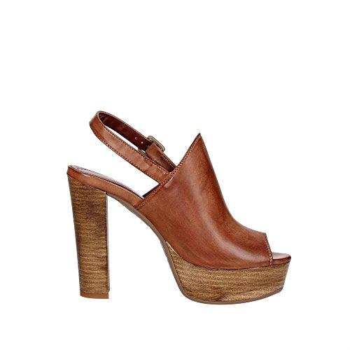 Pregunta SP507 Sandalo Donna Cuoio