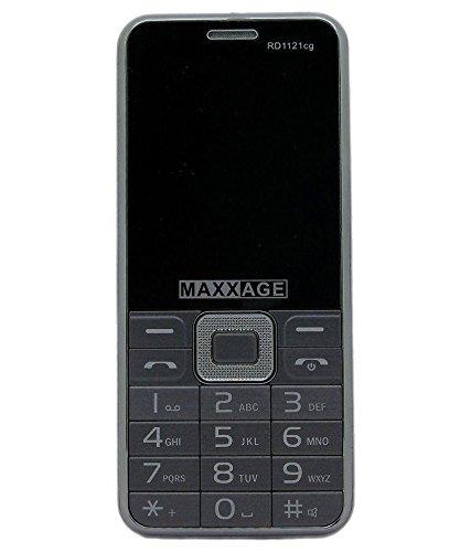MAXXAGE RD1121CG - DUAL SIM - CDMA+GSM - BLACK