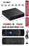 OVIBO Android 8.1 Smart TV Box Quad-Core 2GB RAM 16GB ROM 4K Ultra