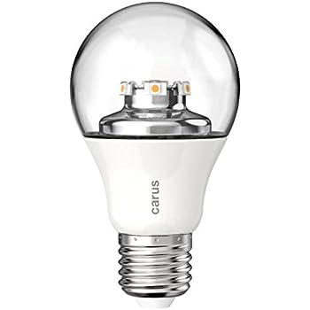 Carus LED Lampe 600 Lumen E27, klar 1014170: Amazon.de: Beleuchtung
