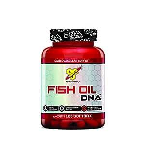 BSN Fish Oil Omega-3 Fatty Acids - 100 Softgels