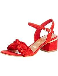 best service c2d67 9aeaf Suchergebnis auf Amazon.de für: rote sandaletten - Tamaris ...