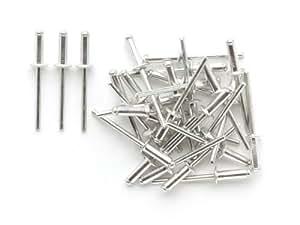 Lot de 100 rivets 4.8 x 14 mm pop 5