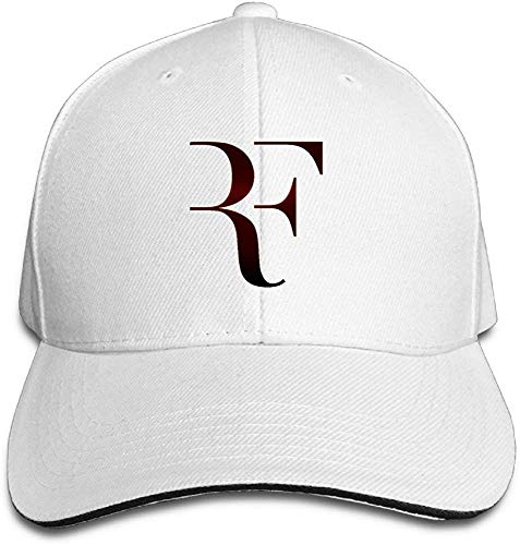 be4e569d18038 Obaeson Huseki Roger Federer Sandwich Baseball Caps for Unisex Adjustable  White
