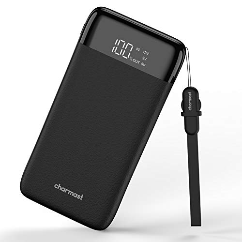 Charmast Powerbank 20800mah Externer Akku Power Delivery QC3.0 Quick Charge LED Digital Display Micro USB Type C Kabel Handy Ladegerät für iPhone X/XS/8/7/6,iPad,New iPad Pro,Huawei,Samsung und Tablet
